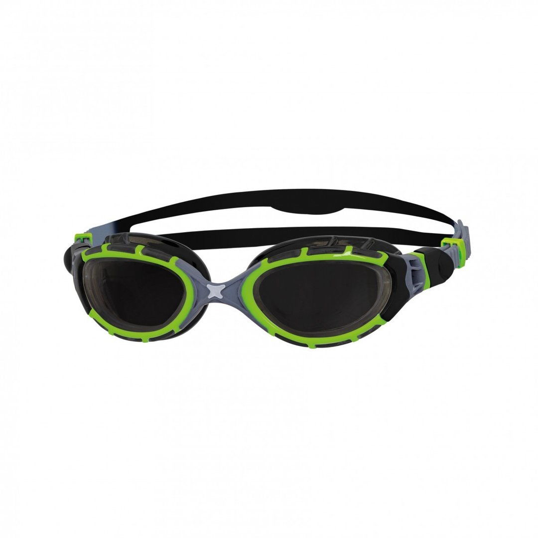 Predator Flex Titanium Reactor Goggles - Green/Black/Smoke